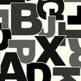 Leoline Alphabet Alfabe Desenli Yoğun Trafik PVC Yer Kaplaması