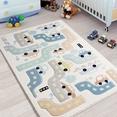 Confetti Baby Car Beyaz Çocuk Odası Halısı