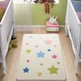 Confetti Baby Stars Beyaz Çocuk Odası Halısı