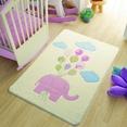 Confetti Sweet Elephant Pembe Çocuk Odası Halısı