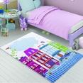 Confetti Sweet Home Pembe Çocuk Odası Halısı