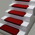 Kırmızı Kare Desenli Basamak Paspası