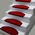 Kırmızı Bukle Halıdan Basamak Paspası