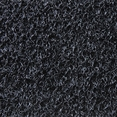 Siyah Kaymaz Kıvırcık Paspas - Yolluk - 120cm