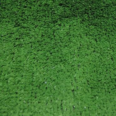 12mm Düz Yeşil Çim Halı