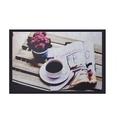 Kahve Fincanı Desenli Kauçuk Kapı Önü Paspası