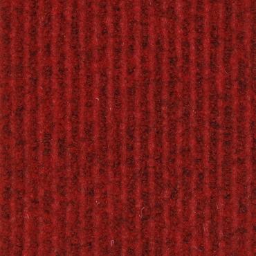 Kırmızı Çelik Tabanlı Halı (Otobüs Halısı)