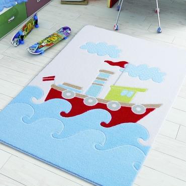 Confetti Baby Ship Mavi Çocuk Odası Halısı